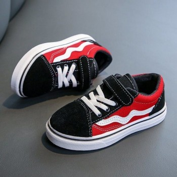 VANS WAVE SNEAKERS (RED)