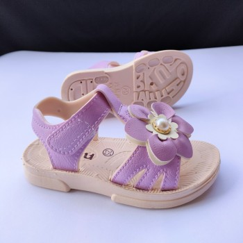 SANDAL FLOWER (PURPLE)