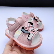 SANDAL WITH SOUND MICKEY (PINK)