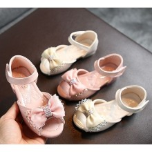 PRINCESS HALF SHOES RIBBON (PINK)