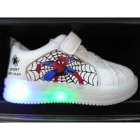 LAMP SHOES SPIDERMAN (WHITE)