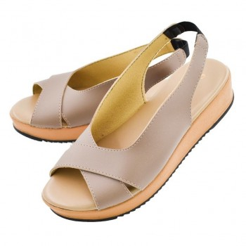 WEDGES SHOES WS003 (KHAKI)