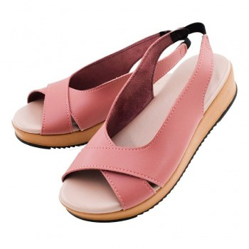 WEDGES SHOES WS002 (PINK)